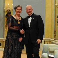 2012, Governor General`s Award Lifetime Achievement, Governor General  David Johnston