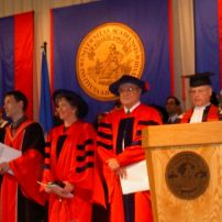 2006, Honorary Doctorate Acadia University Wolfville, Canada