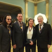 2012, Governor General`s Award with Rush